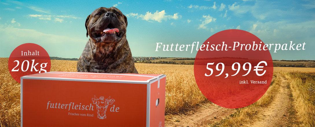 Futterfleisch-Probierpaket