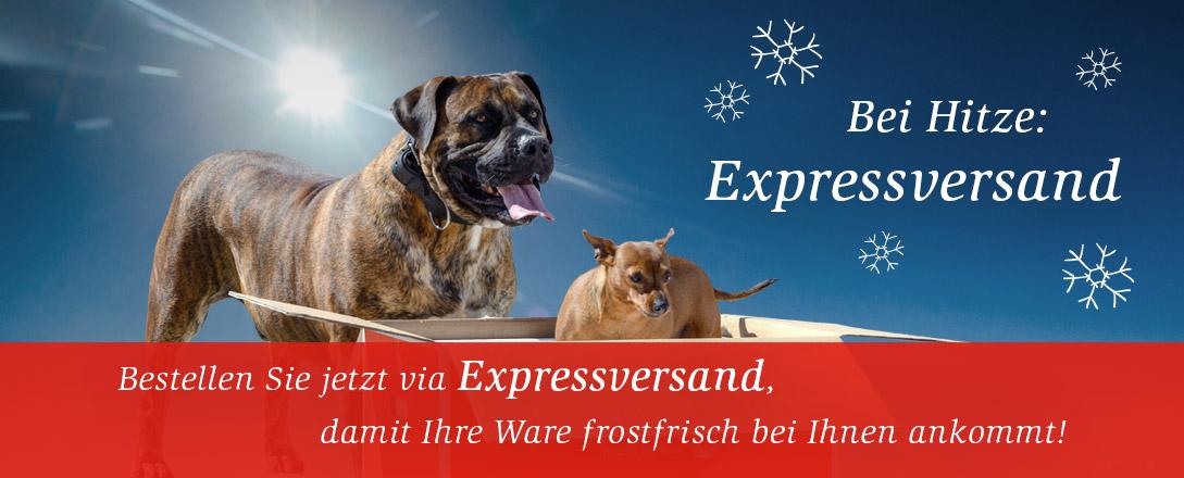 Bei Hitze Expressversand!
